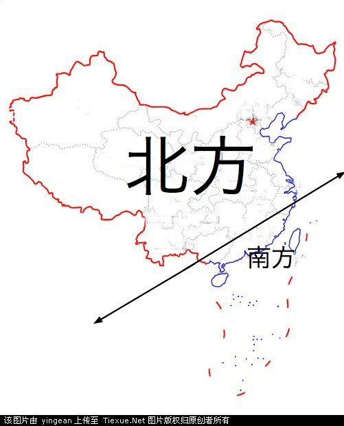 广东人眼中的中国地图_回龙观社区网