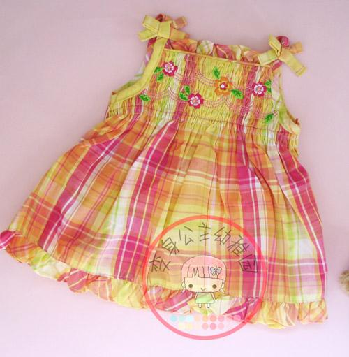 超多可爱女宝宝的夏装小裙子哦.