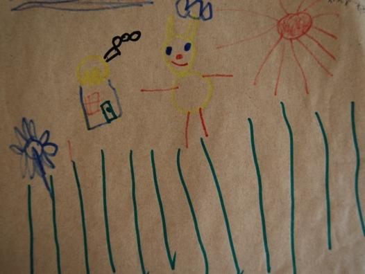 《六月的样子,孩子创造》----博苑幼儿园水彩硬笔画