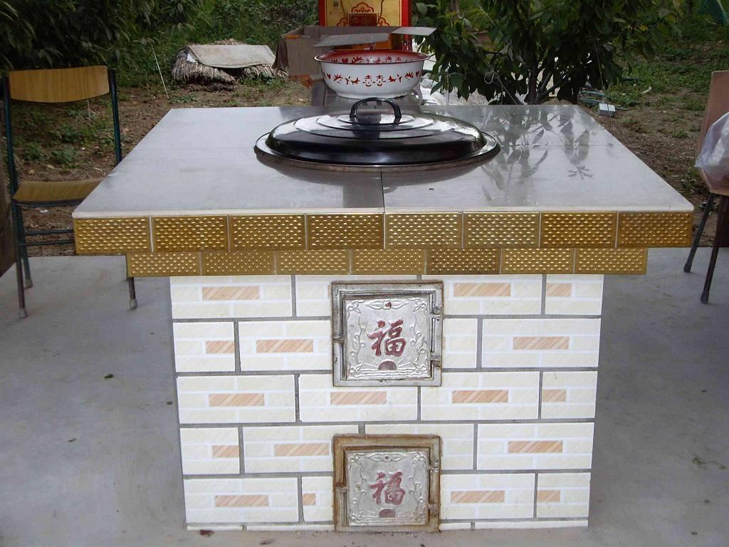 土灶锅台 厨房设计效果图