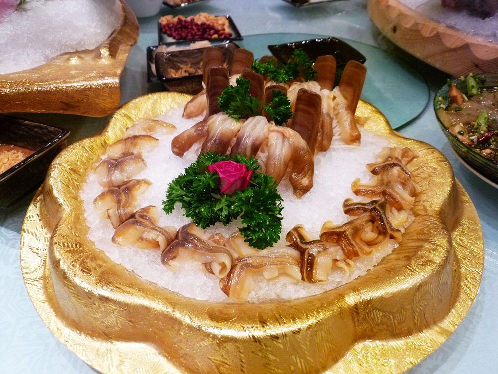 海鲜火锅大餐~!照片超多!很漂亮的海鲜造型噢