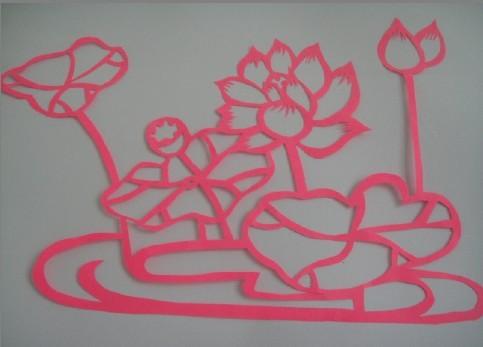 小星星幼儿园老师的剪纸作品,请大家多提宝贵意见意见