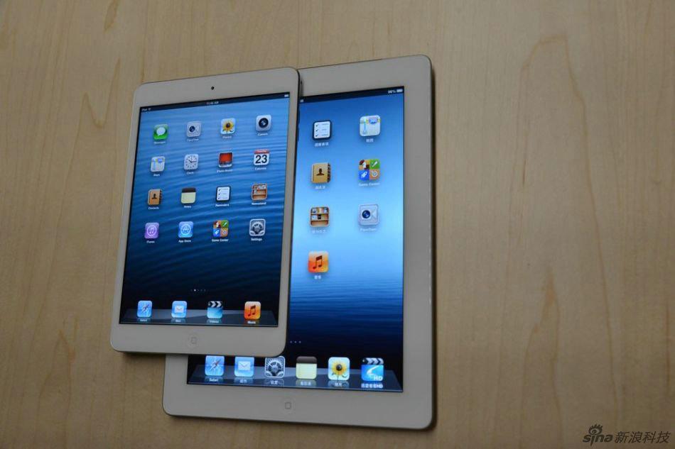 苹果正式发布了7.9英寸平板电脑ipad mini