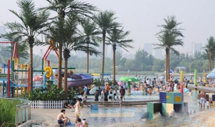 仅90元享朝阳公园海洋沙滩狂欢节周末票1张